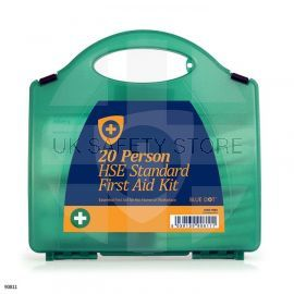20 Person HSE Standard First Aid Kit. (With free safety pack worth £20)