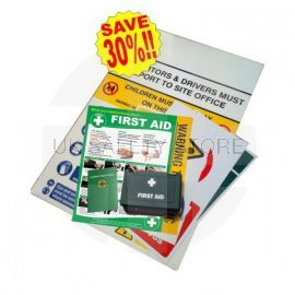 Construction Sign Safety Pack - Large