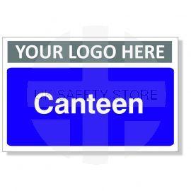 Canteen Custom Logo Door Sign