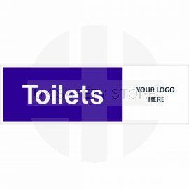 Toilets Door Sign