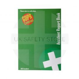 GDPR First Aid Accident Record Book