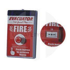 Self Contained Fire Alarm - Push to Activate