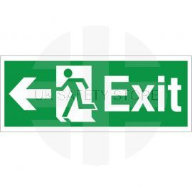 Exit Arrow Left Sign