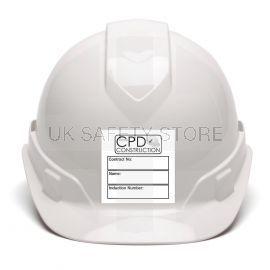 Custom Helmet/Hard Hat Label Sticker