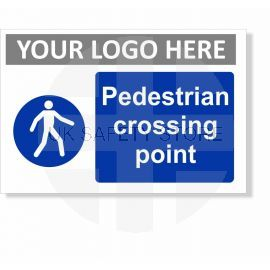 Pedestrian Crossing Point Sign