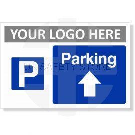 Parking Arrow Up Sign