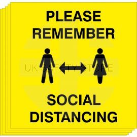 Please Remember Social Distancing (Multipack)