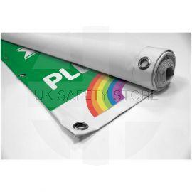 Please Keep Your Distance Heavy Duty PVC Banner