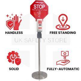 Automatic Hand Sanitiser Dispenser - Portable & Freestanding