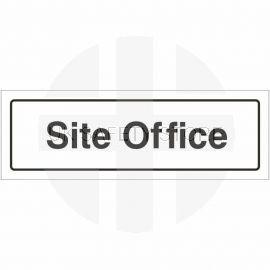 Site Office Door Sign