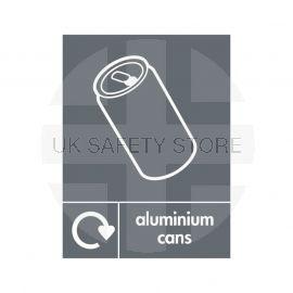 Aluminium Cans Sign