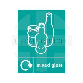 Mixed Glass Sign