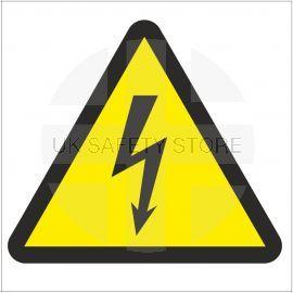 Electrical Risk Symbol Sign