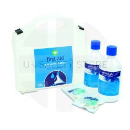 Reliwash Double Eyewash and First Aid Kit