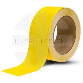 Hazard And Floor Marking Tape - Yellow 50mm x 33m