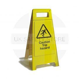 Caution Trip Hazard Freestanding Sign 600mm