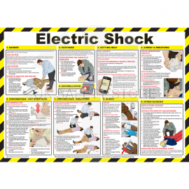 Electric Shock Laminated Poster