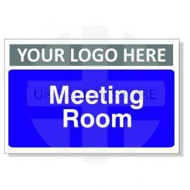 Meeting Room Custom Logo Door Sign