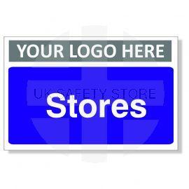 Stores Custom Logo Door Sign