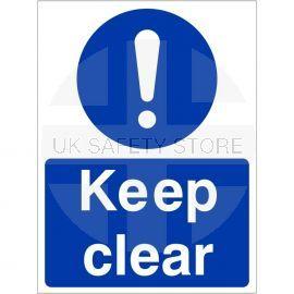 Keep Clear Sign