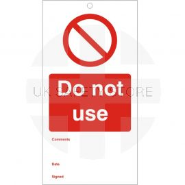 Do Not Use - Maintenance Tags
