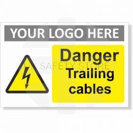 Danger Trailing Cables Sign