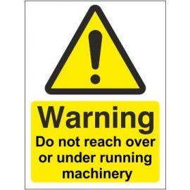 Warning Do Not Reach Sign