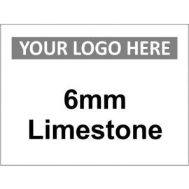 6mm Limestone Material Management Sign
