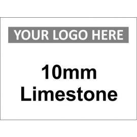 10mm Limestone Sign