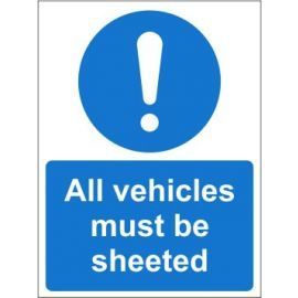 All vehicles must be sheeted sign in a variety of sizes and materials with or without your logo