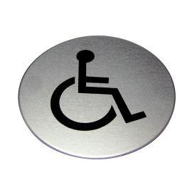 Disabled Toilet Aluminium Sign