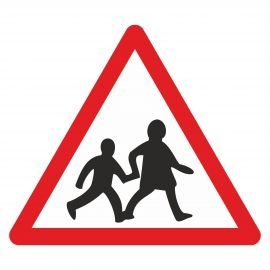 School Crossing Sign - Class 2 Reflective Sign