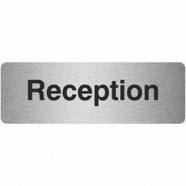 Reception Prestige Premier Door Sign 300X100mm
