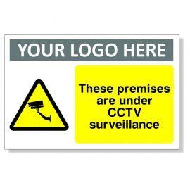 These Premises Are Under CCTV Surveillance CCTV Sign