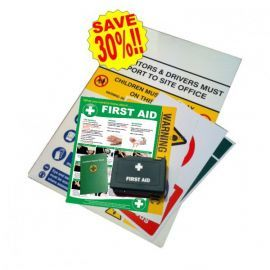 Large Construction Sign Safety Pack A