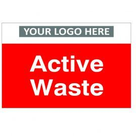 Active Waste Custom Logo Recycling Sign