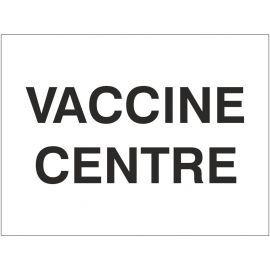 Covid-19 Vaccine Centre Sign