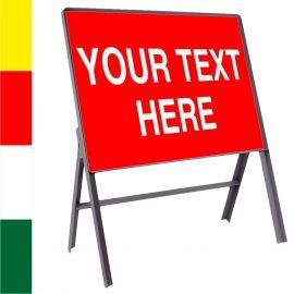 Custom Road Traffic Reflective Metal Sign