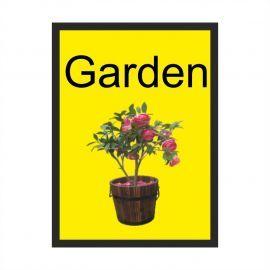 Garden Dementia Sign