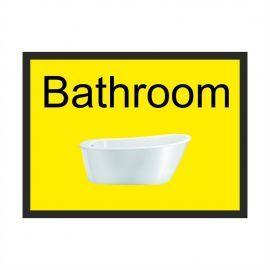 Bathroom Dementia Sign