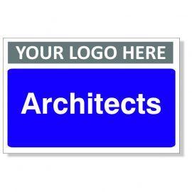 Architects Custom Logo Door Sign