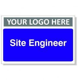 Site Engineer Custom Logo Door Sign