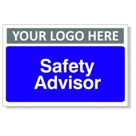 Safety Advisor Custom Logo Door Sign