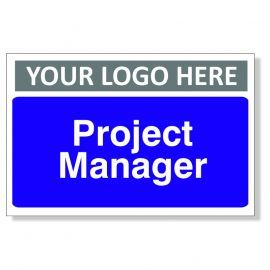 Project Manager Custom Logo Door Sign