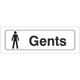 Gent Toilets Door Sign