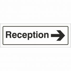 Reception Right Door Sign