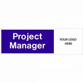 Project Manager Door Sign