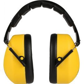 Folding Yellow Ear Defenders