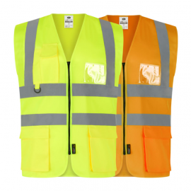 High Visibility Executive Safety Waistcoat (Pack of 10)