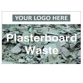 Plasterboard Waste Custom Logo Recycling Sign